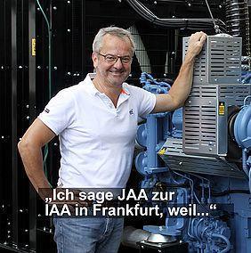 Kunzlerstrom Notstromtechnik für IAA in FFM Frankfurt am Main