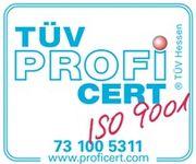 ISO 9001 TÜV Zertifikat