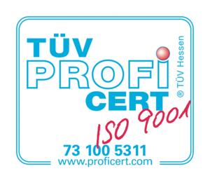 KUNZLERSTROM Qualitätsmanagement zertifiziert nach DIN EN ISO 9001:2015